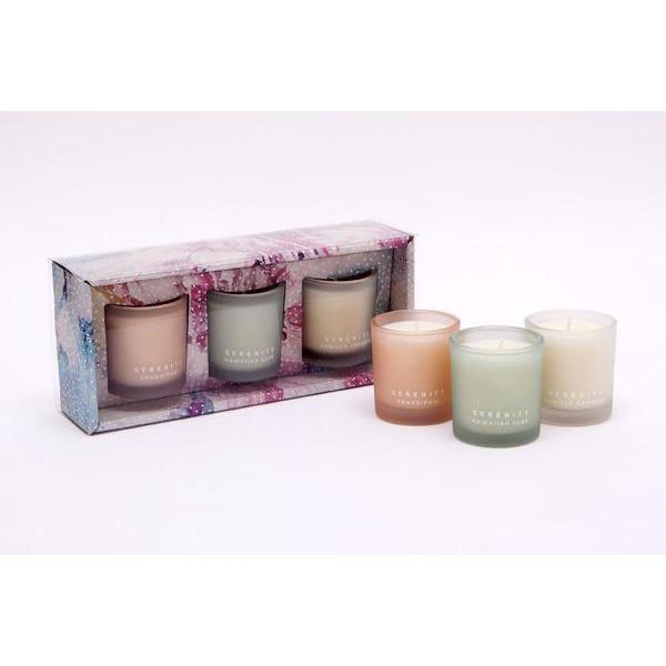 Serenity votive candle set