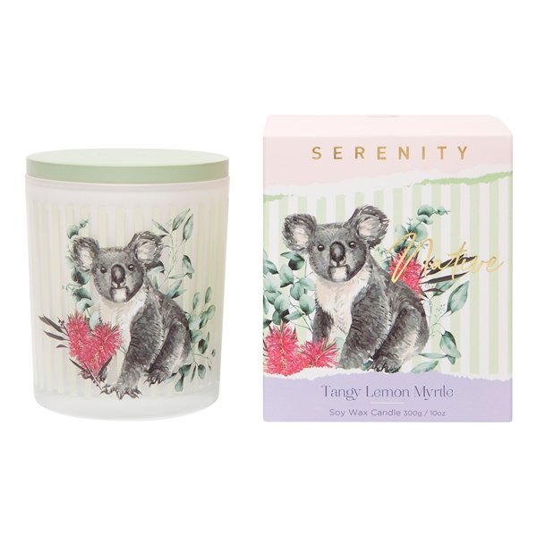 Tangy Lemon Myrtle Soy Candle