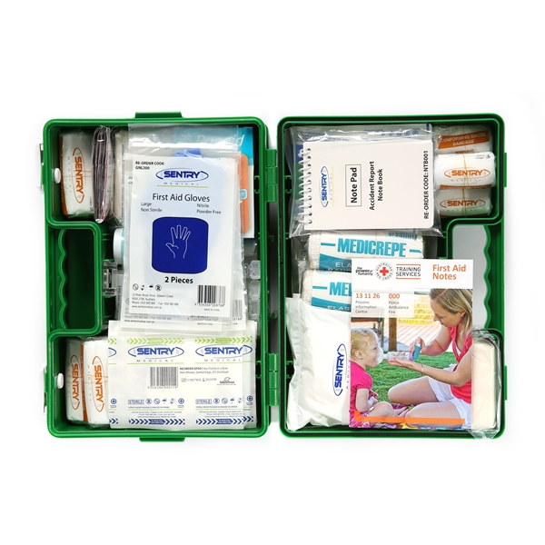 Workplace First Aid Kit - Portable Case