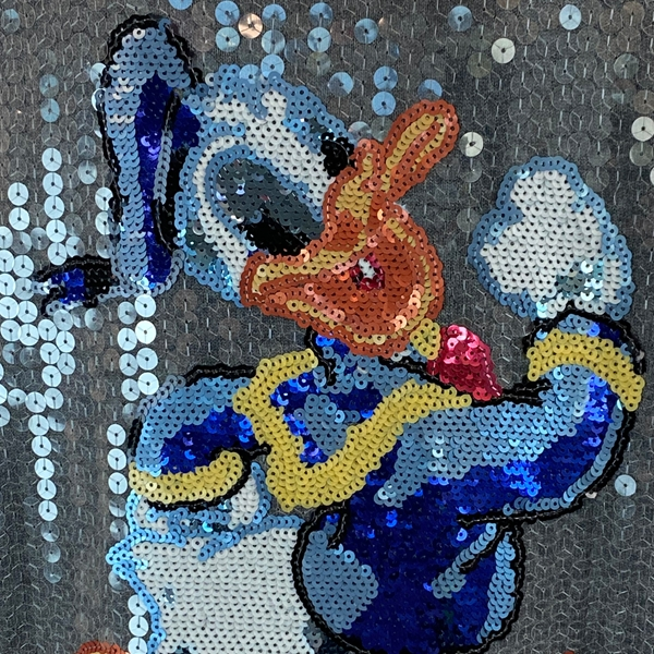 Betty Chow sequin Donald Duck top