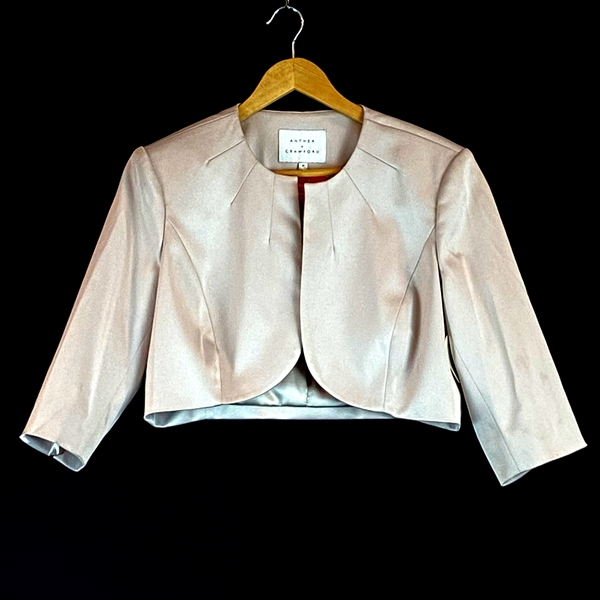 Anthea Crawford bolero blazer
