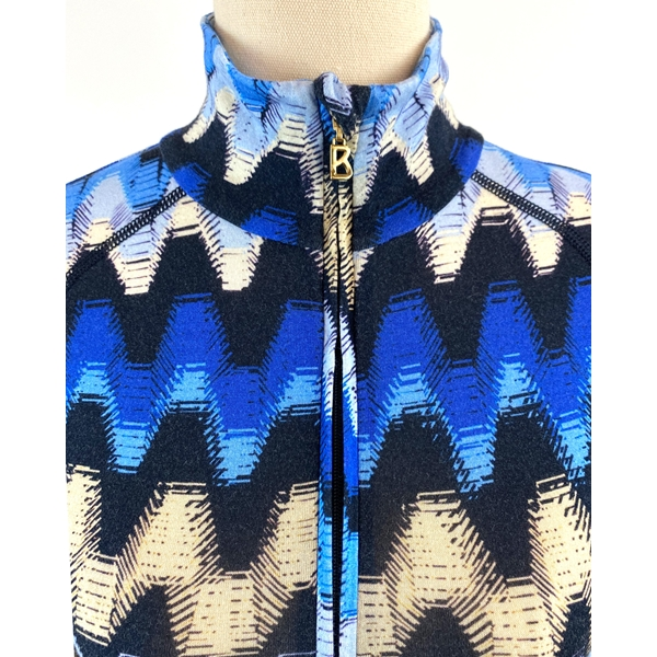 Bogner patterned top