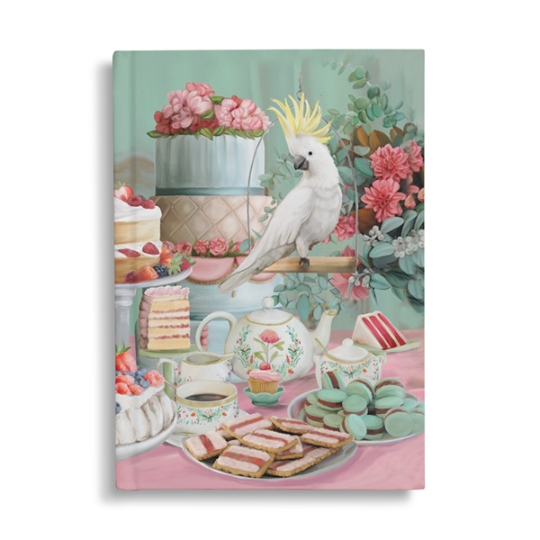 Notebook - Lavish Tea Party